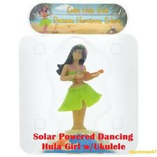 NEW Solar Powered Dancing HULA GIRL GREEN *NEW for 2017 Novelty Collectible Toy