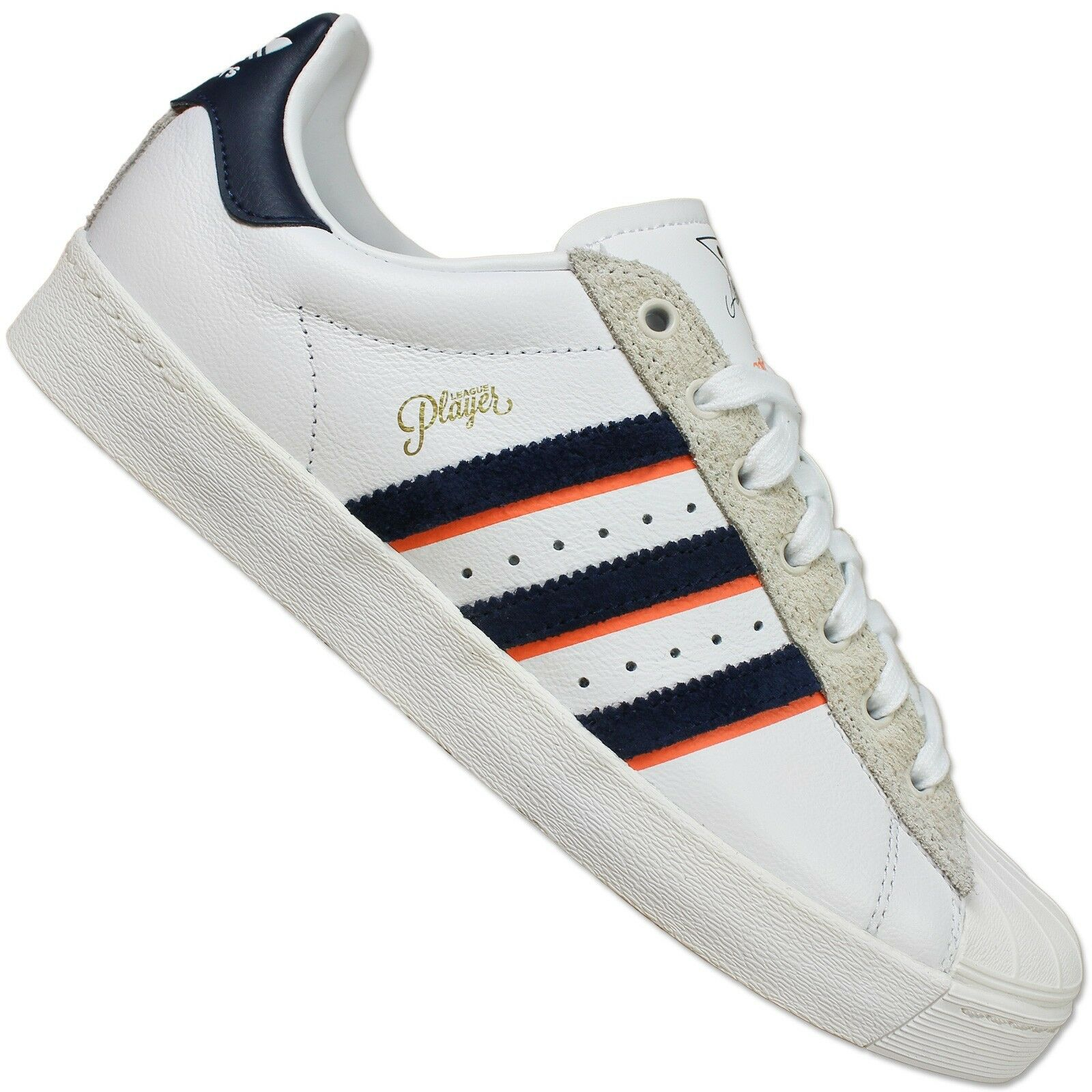 ADIDAS ORIGINALS SUPERSTAR II ALL TIMERS LEAGUE PLAYER SCHUH WEISS 37 1 3 UK 4.5