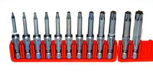 PB-SWISS-TOOLS-E6-400-Precision-Bits-Bit-Set-12-tlg-fuer-TORX-Schrauben-NEU