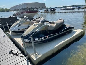 Set it two 2008 Yamaha VX1100 Jet-ski Wave-Runners with trailer