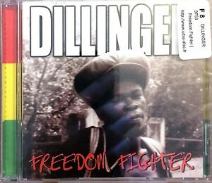 Dillinger-CD-Freedom-Fighter-England-M-M-Scelle-Sealed