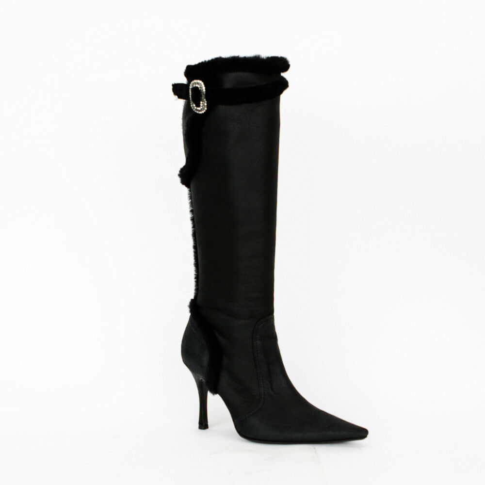 Rene Caovilla | Leather Knee High Boots size