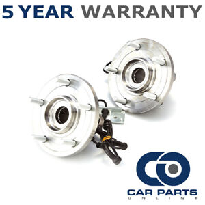2 x Front Wheel Bearing & Hub Assembly for Chrysler Grand Voyager 2008-2014