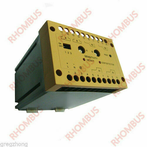 Two Channel Traffic Inductive Loop Vehicle Detector Daul Control