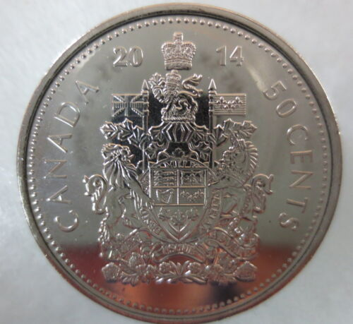 2014 CANADA 50¢ HALF DOLLAR COIN BRILLIANT UNCIRCULATED