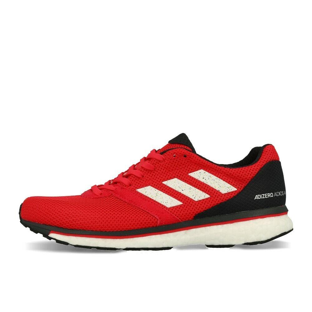 Adidas adizero adios 4 M Active Pink White Carbon Laufschuhe red white black