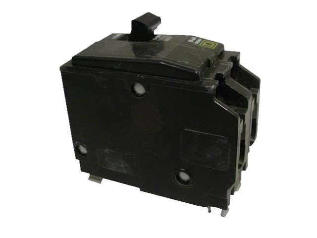 SCHNEIDER ELECTRIC Miniature Circuit Breaker 120//240-Volt 60-Amp QO260 Sw Fus...