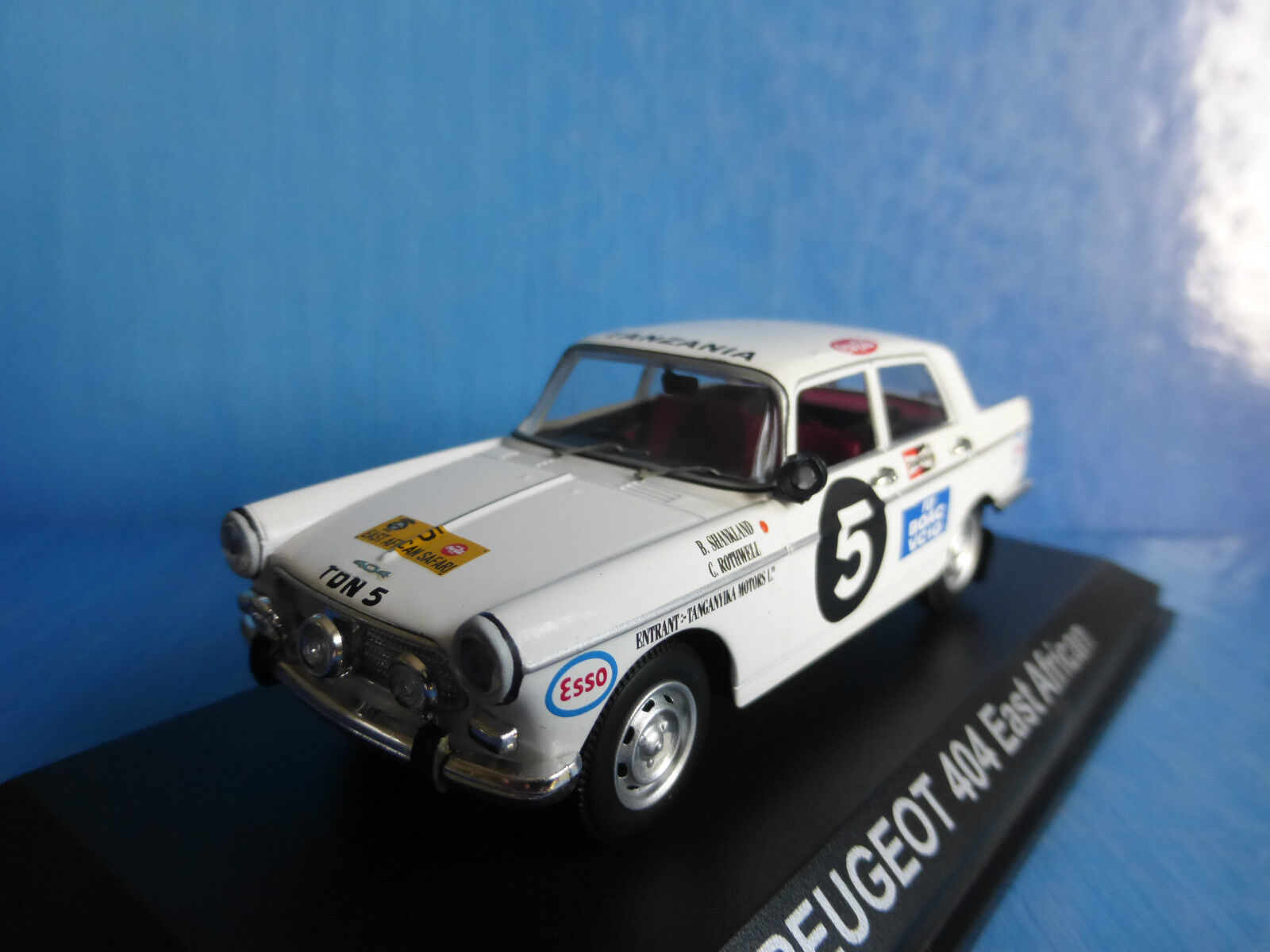 PEUGEOT 404 SHANKLAND redHWELL EAST EAST EAST AFRICAN SAFARI RALLY 1967 NOREV 474423 f9bce1