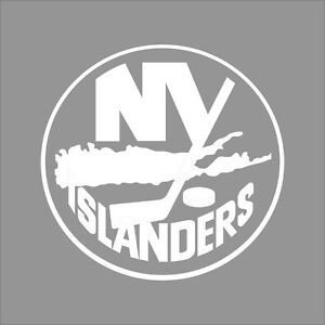 Image Is Loading New York Islanders NHL Team Logo 1Color Vinyl