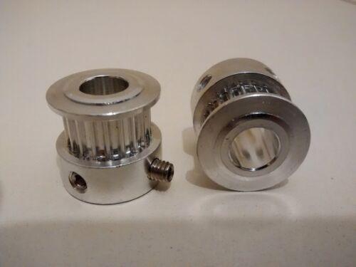 3D Printer T2.5 Timing Belts and 8mm Shaft 20 Teeth Pulleys Reprap Prusa Mendel