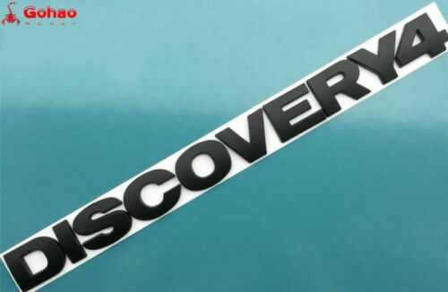 "Auto Car Black /""Discovery4/"" Rear Emblem Badge Decal Sticker Land Rover Discovery"
