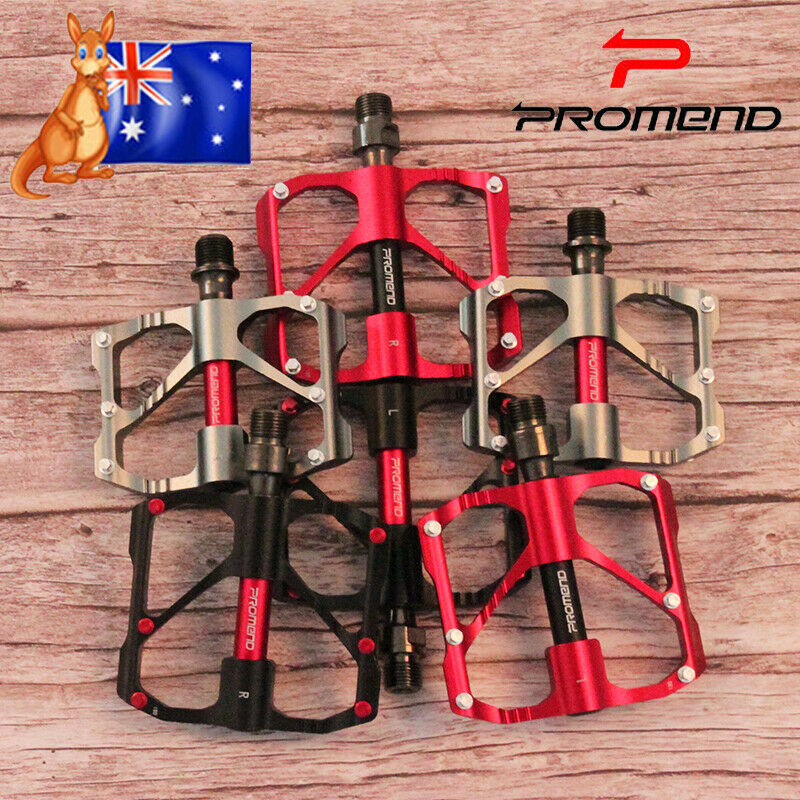 AU 9 16in Sealed 3 Bearings Mountain Bike  Pedals Bicycle Cycling Flat Platform  100% genuine counter guarantee