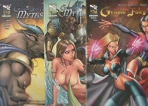 4 COMIC LOT ALE GARZA COVERS ALL FPLUS TO NM + BONUS ALE GARZA FATHOM