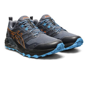 Asics Homme Gel-Trabuco Terra Trail Chaussures De Course Baskets Sneakers Gris Sports