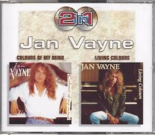 Jan Vayne ‎– Colours Of My Mind / Living Colours   2- cd