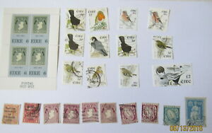 Ireland-Stamp-Collection-Scott-039-s-117-143-326a-Mint-amp-Used-mnh-BIRDS