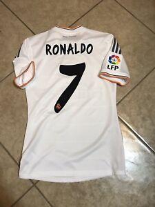 2078dee909f Real Madrid Ronaldo 6 Juve Player Issue Formotion Football Shirt ...