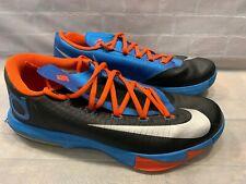 meet b7426 1eb00 item 1 Nike KD VI Kevin Durant Thunder Away Men s Shoe Size 10 Black Orange  599424-004 -Nike KD VI Kevin Durant Thunder Away Men s Shoe Size 10 Black  Orange ...