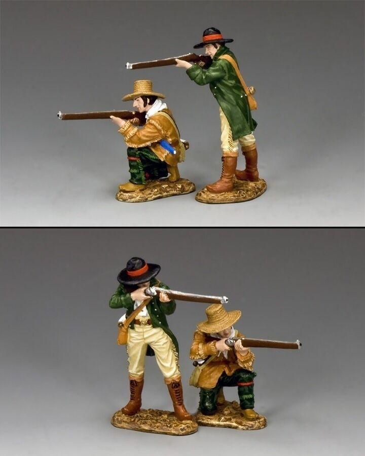 The Riflemen  Set of 2 Alamo Defenders King & Country RTA096 Remember the Alamo