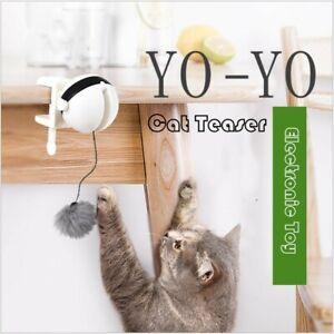 Palla-INTERATTIVA-Movimento-Gatto-Giocattolo-Teaser-elettronico-a-Biglia-Pet-Toy-motorizzata