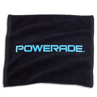 Powerade Small Towel, Blue And Black, 15 X 18 Inches, Brand