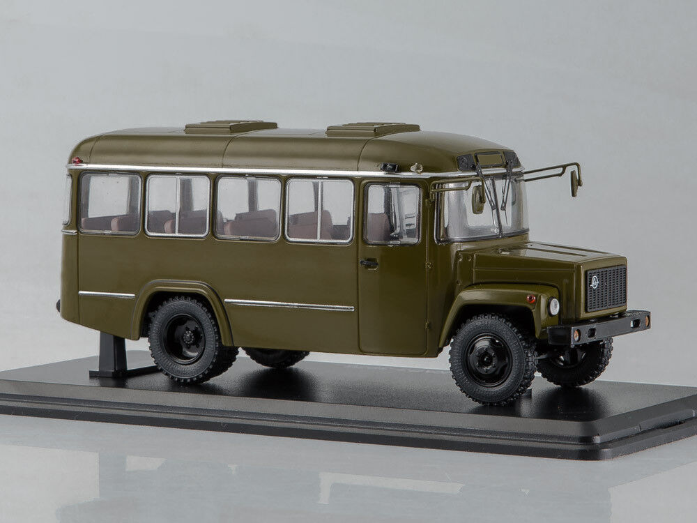 Scale model 1 43 Army bus KAVZ-3976 (khaki)