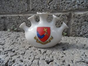 Old-crested-china-ornament-small-porcelain-crested-Bundoran-Rare-Irish-crest