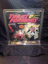 Snarl Transformers Generation 2 1992 MIB NIB Sealed New Autobot Die Cast Metal