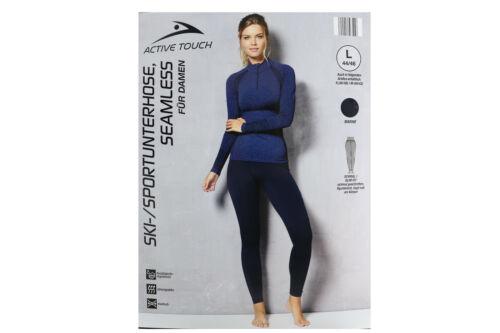 Active Touch dames de ski//sport Slip Seamless Marine Taille M NOUVEAU *