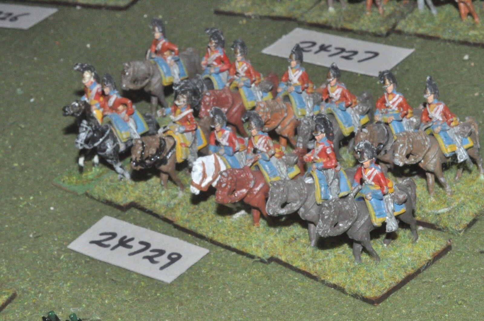 25mm napoleonischen   british - dragoons 14 zahlen - cav (24729)