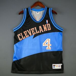 45230f33a63 100% Authentic Shawn Kemp Vintage Starter Cavs Jersey Size 46 L - XL ...