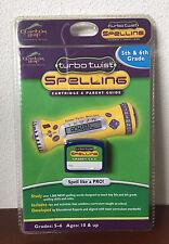 Quantum Leapfrog Turbo Twist Spelling Cartridge & Parent Guide - 5th & 6th Grade