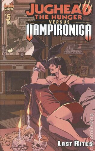 Jughead the Hunger vs Vampironica #5A Kennedy Variant VF 2019 Stock Image