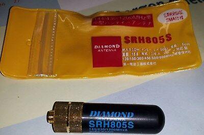 Aus Dem Ausland Importiert Diamond Srh-805s Sma-mini-gummiantenne 2m +70cm + 23cm