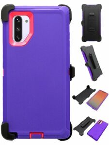 For-Samsung-Galaxy-Note-10-Plus-Full-Body-Defender-Case-amp-Clip-Fit-OTTERBOX-Pur
