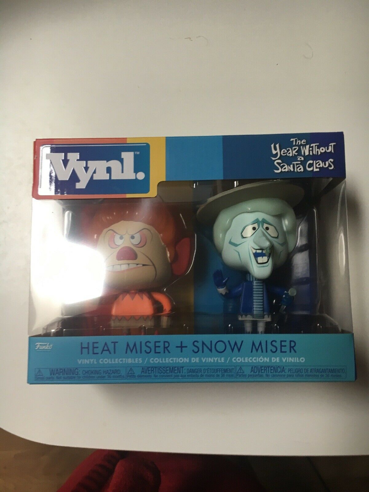 The Year Without A A A Santa Claus - Heat Miser & Snow Miser Vynl - FunKo RARE ded583