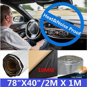 10mm Suv Car Interior Insulation Mat Heat Sound Deadener Noise
