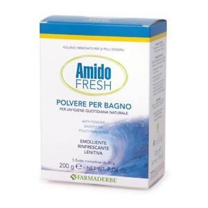 Amido Fresh Farmaderbe - Polvere per Bagno - 5 buste   eBay