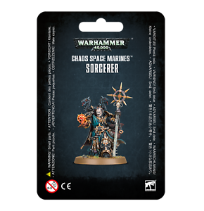 Chaos-Space-Marines-Sorcerer-Warhammer-40K-NIB-Blister