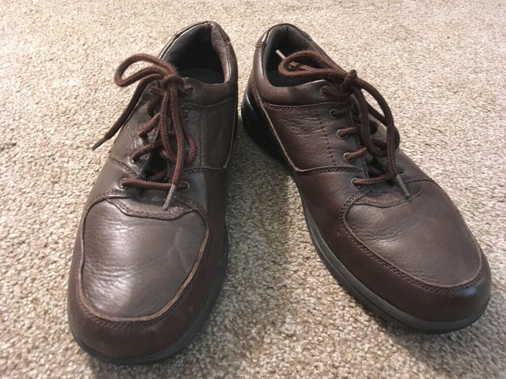 Florsheim DM2 Comfortech Brown Oxford shoes, Size 10W
