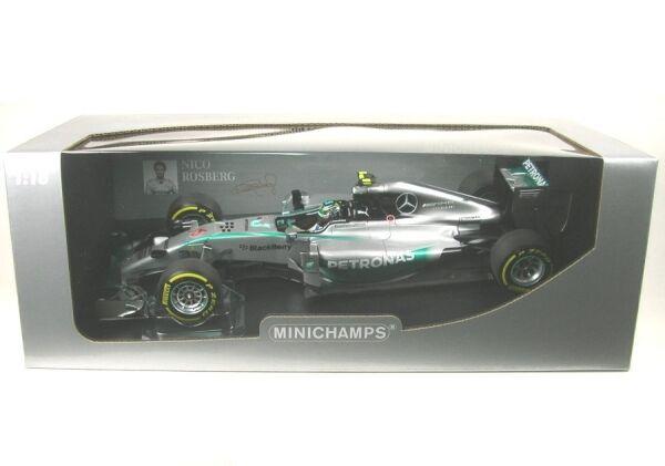 MERCEDES AMG f1 w05 Hybride No. 6 Abu Dhabi GP 2014 (Nico rosberg)