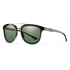 525f2e3209c Image is loading Smith-Clayton-Black-Sunglasses-w-ChromaPop-Polarized-Gray-