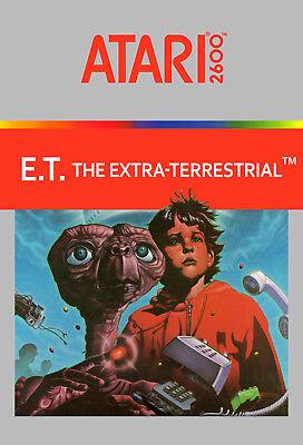 retro gaming Photo Poster Artwork Art Space Invaders Atari 2600 encadrée Imprimer