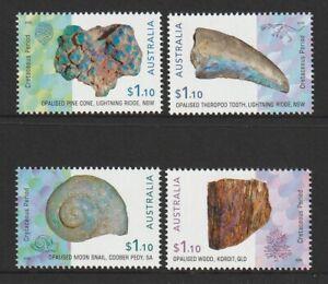 Australia-2020-Stamps-Opilised-Fossils-Stamps-Design-set-MNH
