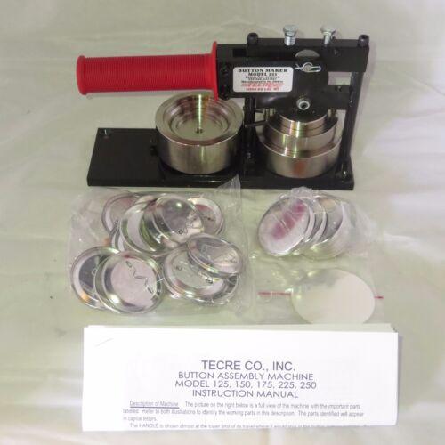 Badge/ Button Makers 2-1/4 2 25 Inch Standard Tecre Button