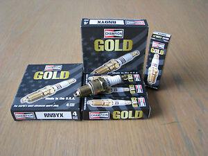 ASTON-MARTIN-DB4-DB5-DB6-DBS6-V8-VANTAGE-5-3L-VOLANTE-GOLD-Spark-Plugs-RN9YX