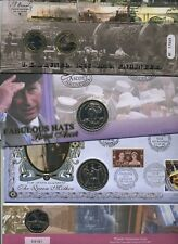 COIN COVERS 1981 - 2012 Various Coins - £1 £2 £5 Crown Medal - MULTIPLE LISTING
