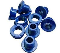 Single Chain Ring Narrow Chainring Bolts MTB Bike Bicycle Alloy Blue 6.5mm