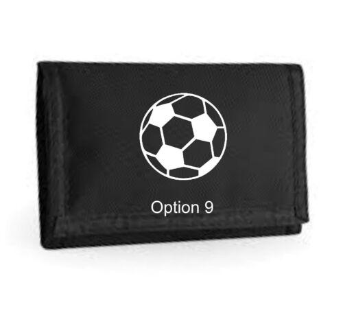 Football ripper wallet Men/'s /& Boys wallet Gift