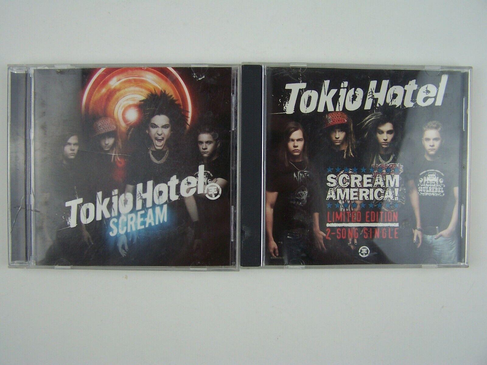 Tokio Hotel 2xCD Lot
